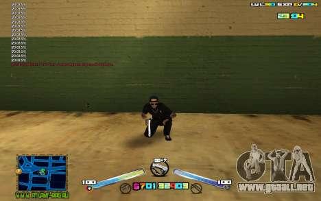 C-HUD Expert para GTA San Andreas segunda pantalla