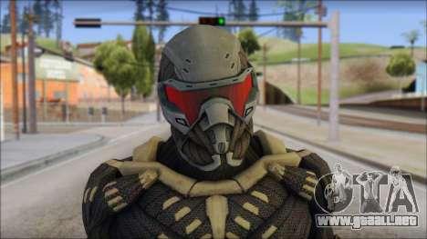 NanoSuit Skin para GTA San Andreas tercera pantalla