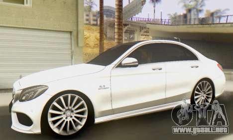 Mercedes-Benz C250 AMG para GTA San Andreas left