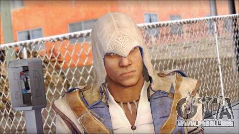 Connor Kenway Assassin Creed III v1 para GTA San Andreas tercera pantalla