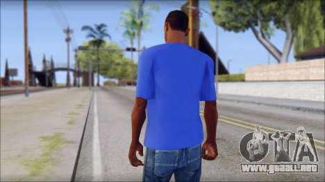Black Sabbath T-Shirt v3 para GTA San Andreas segunda pantalla