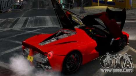 Ferrari LaFerrari WheelsandMore Edition para GTA 4 vista lateral