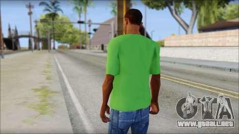 Pozilei T-Shirt para GTA San Andreas segunda pantalla