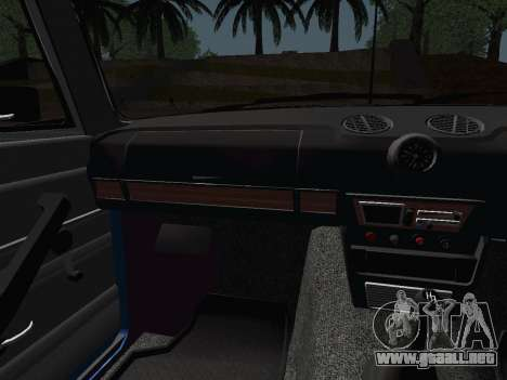 VAZ 21061 para vista lateral GTA San Andreas
