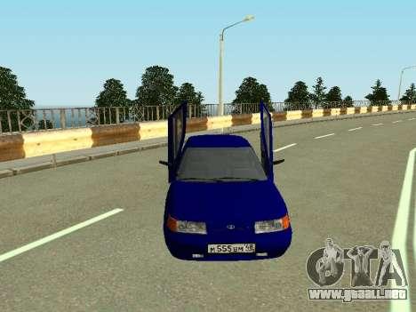 De los FLOREROS 2110 para GTA San Andreas vista hacia atrás
