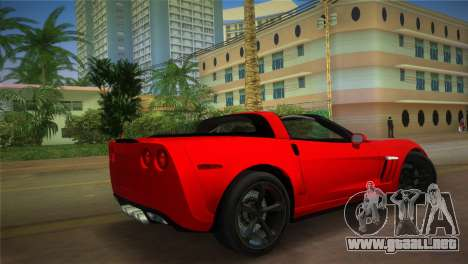 Chevrolet Corvette 2010 para GTA Vice City left