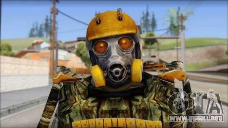 Exoskeleton para GTA San Andreas tercera pantalla