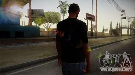 Zombie Polo Shirt para GTA San Andreas segunda pantalla
