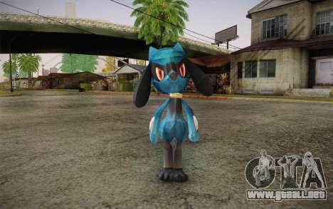 Riolu from Pokemon para GTA San Andreas