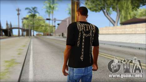 Randy Orton T-Shirt para GTA San Andreas segunda pantalla