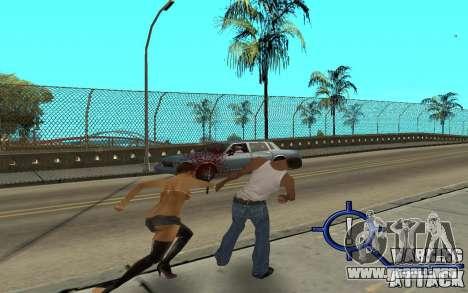 Warning Attack para GTA San Andreas
