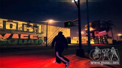 [ENB] Kings of the streers para GTA San Andreas sucesivamente de pantalla