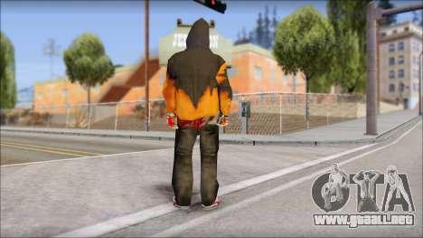 Manhunt Skin para GTA San Andreas segunda pantalla