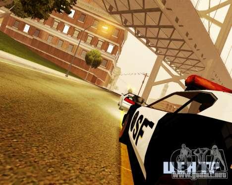 Jester Police SF para la visión correcta GTA San Andreas