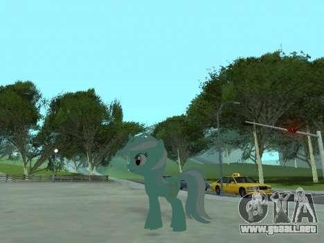 Lyra para GTA San Andreas quinta pantalla