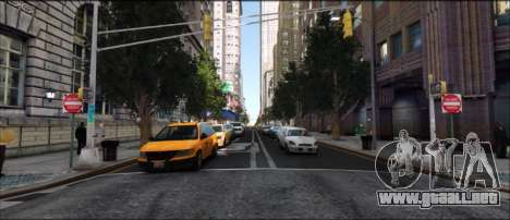 V.I.P ENB para GTA 4 adelante de pantalla