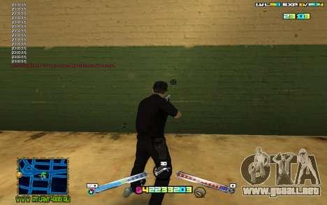 C-HUD Expert para GTA San Andreas tercera pantalla
