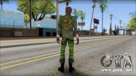 Riddler para GTA San Andreas segunda pantalla