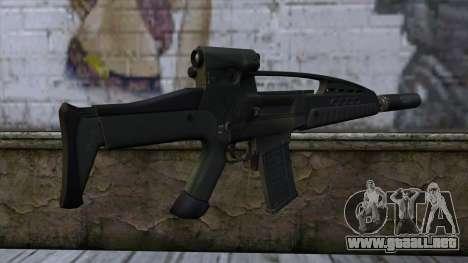 XM8 Assault Olive para GTA San Andreas segunda pantalla