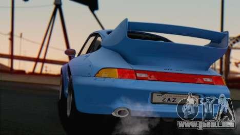 Porsche 911 GT2 (993) 1995 V1.0 SA Plate para GTA San Andreas interior