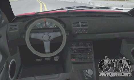 La superioridad Sentinel XS para el motor de GTA San Andreas