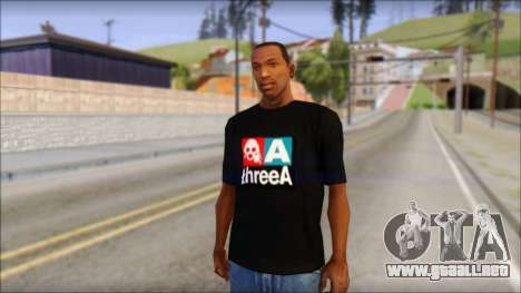 ThreeA T-Shirt para GTA San Andreas