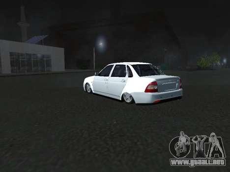 Ваз 2170 Pnevmogorsk para la visión correcta GTA San Andreas