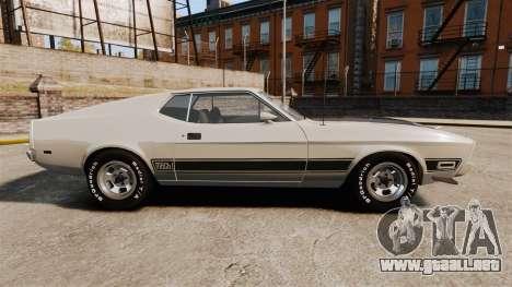 Ford Mustang Mach 1 1973 v3.0 GCUCPSpec Edit para GTA 4 left