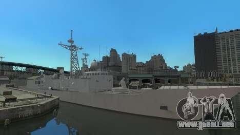 U.S. Navy frigate para GTA 4 left