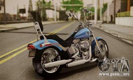 Harley-Davidson FXSTS Springer Softail para GTA San Andreas left
