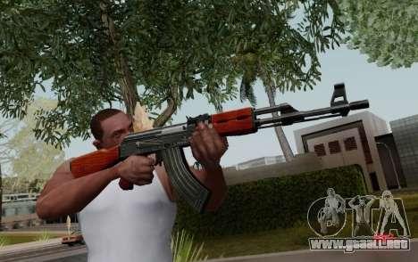 Type 56 para GTA San Andreas segunda pantalla