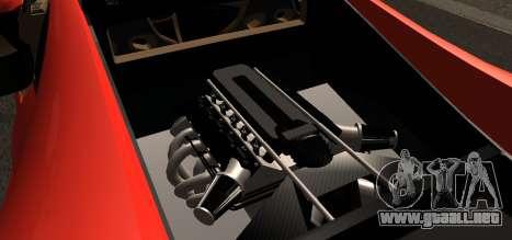 Spano Black para la visión correcta GTA San Andreas