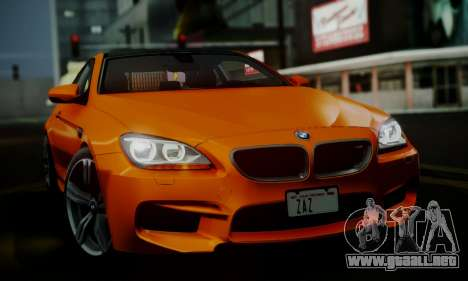 BMW M6 F13 2013 para vista inferior GTA San Andreas
