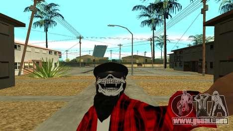 Selfie Mod para GTA San Andreas