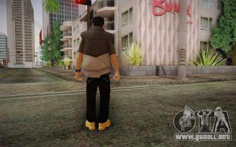 Civil v1 para GTA San Andreas segunda pantalla