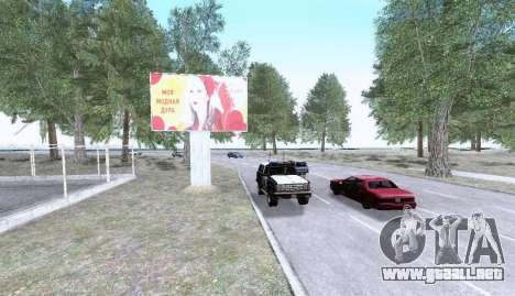 Russian Map 0.5 para GTA San Andreas sexta pantalla