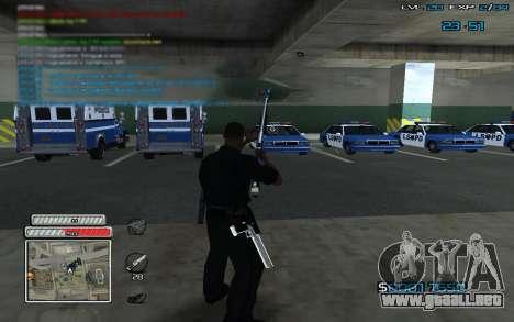 New C-HUD v.2 para GTA San Andreas tercera pantalla