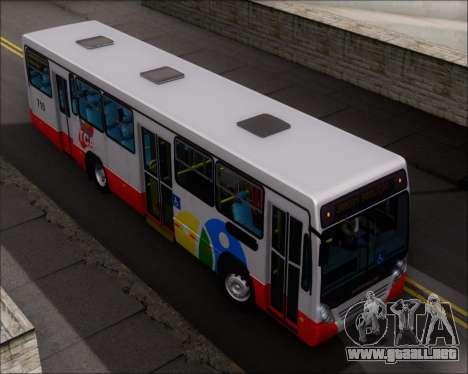 Neobus Mega IV - TCA (Araras) para la vista superior GTA San Andreas