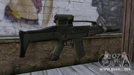 XM8 Compact Green para GTA San Andreas segunda pantalla