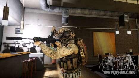 M4A1 V1.1 para GTA 4 segundos de pantalla