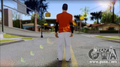 Polera Naranja con Gorro para GTA San Andreas segunda pantalla