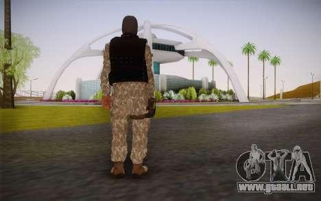Fuerzas Especiales para GTA San Andreas segunda pantalla