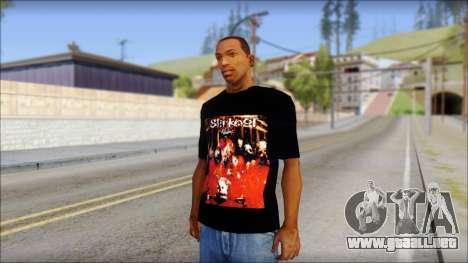 SlipKnoT T-Shirt mod para GTA San Andreas