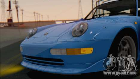Porsche 911 GT2 (993) 1995 V1.0 SA Plate para visión interna GTA San Andreas