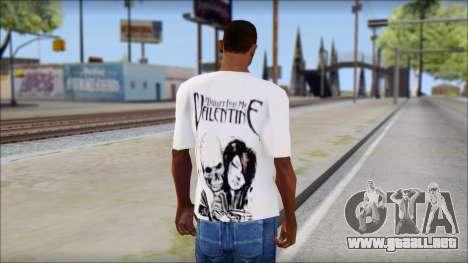BFMV Russian Roulette T-Shirt para GTA San Andreas segunda pantalla