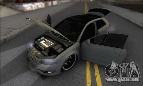 Audi S3 2006 Custom para vista inferior GTA San Andreas