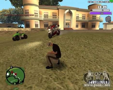 C-HUD by Weezy para GTA San Andreas tercera pantalla