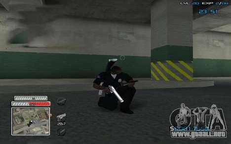 New C-HUD v.2 para GTA San Andreas segunda pantalla