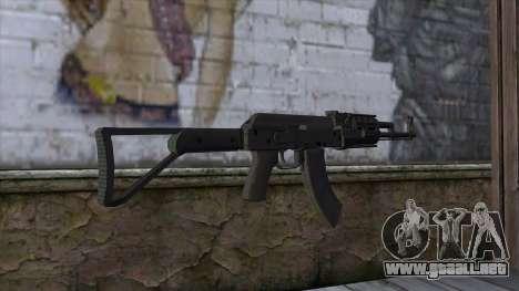 Assault Rifle from GTA 5 para GTA San Andreas segunda pantalla