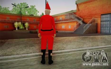 Santa Claus para GTA San Andreas segunda pantalla